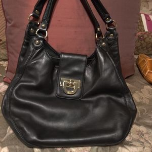 DKNY Black Leather Purse.     $150